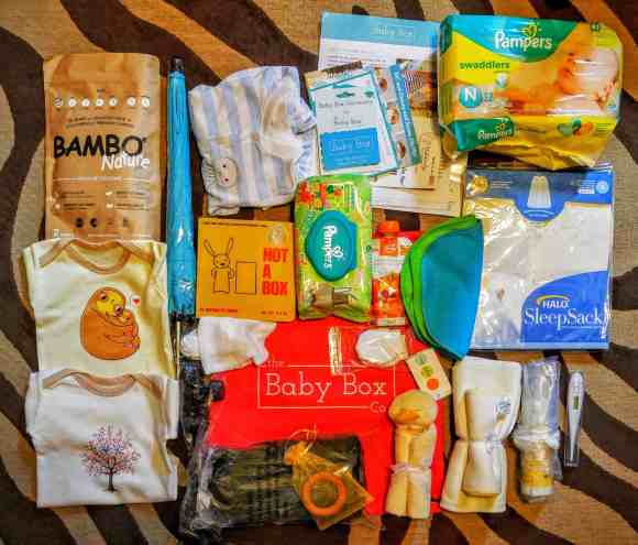 What's in a Box?—How the Baby Box Company Starts Parenthood Off RIGHT.—Baby Box Contents