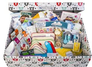 What's in a Box? — How the Baby Box Company Starts Parenthood Off RIGHT. — The Baby Box with its Contents