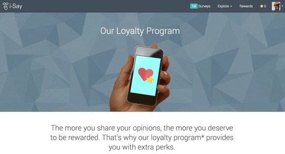 A Penny for Your Thoughts—Get Rewarded for Your Opinions with Ipsos i-Say!—Our Loyalty Program