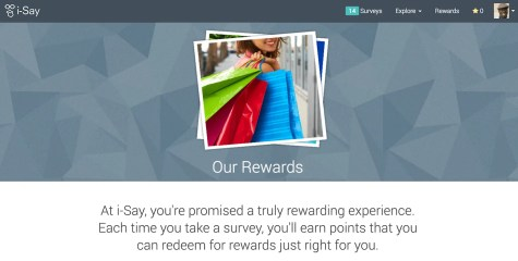 A Penny for Your Thoughts — Get Rewarded for Your Opinions with Ipsos i-Say! — Our Rewards