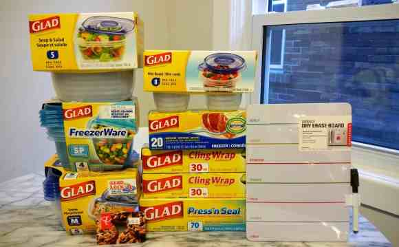 Gettin' it in with GLAD—The Refrigerator Makeover You Didn't Know You Needed!—A Whole Load of GLAD Food Protection Products!