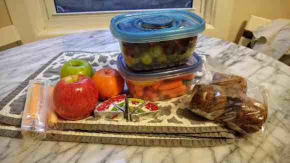 Gettin' it in with GLAD—The Refrigerator Makeover You Didn't Know You Needed!—Picnic Packing with GLAD