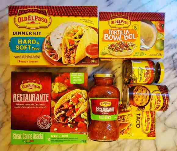 Let's Taco 'Bout It, Chapter One—Solving Dinnertime Dilemmas with Old El Paso!—Old El Paso Product Shot