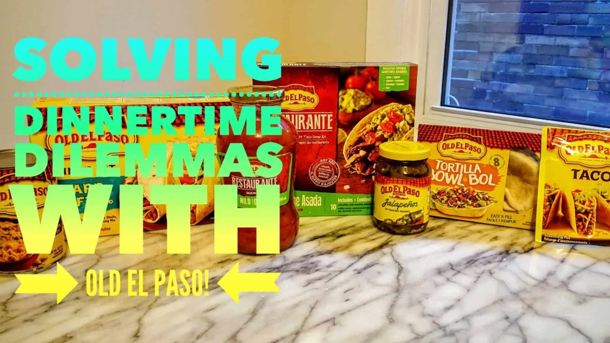 Let's Taco 'Bout It, Chapter One — Solving Dinnertime Dilemmas with Old El Paso! (Featured Image)
