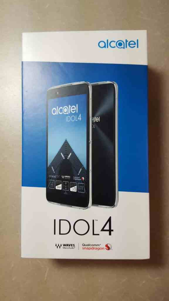 DADDY'S GOT A BRAND NEW TOY—The Alcatel onetouch Idol 4—The Budget Smartphone You've Been Looking For!—Idol 4 Box