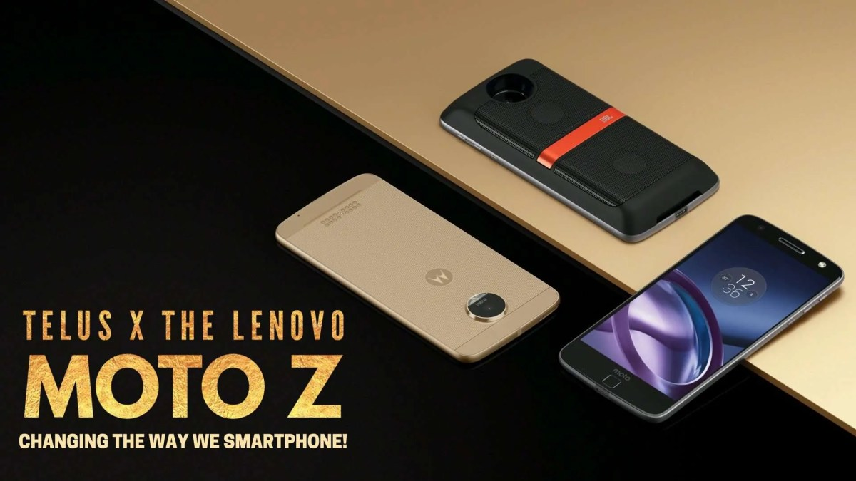 DADDY'S GOT A BRAND NEW TOY — TELUS x The Lenovo Moto Z — Changing the Way We Smartphone! (Featured Image)