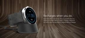"DADDY'S GOT A BRAND NEW TOY — TELUS x The 1st Gen Moto 360 — ""Mr. Nice Watch"" — Recharging the Moto 360"