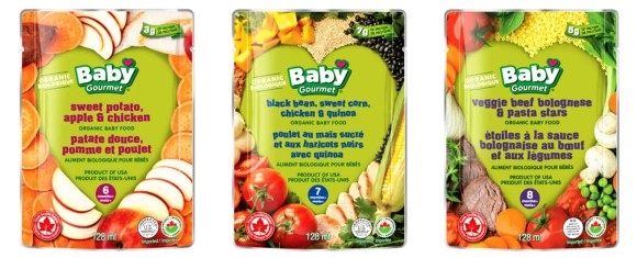 Feed Your Kids the RIGHT Way With Baby Gourmet!!!—Sweet Potato, Apple and Chicken + Black Bean, Sweet Corn, Chicken and Quinoa + Veggie Beef Bolognese with Pasta Stars