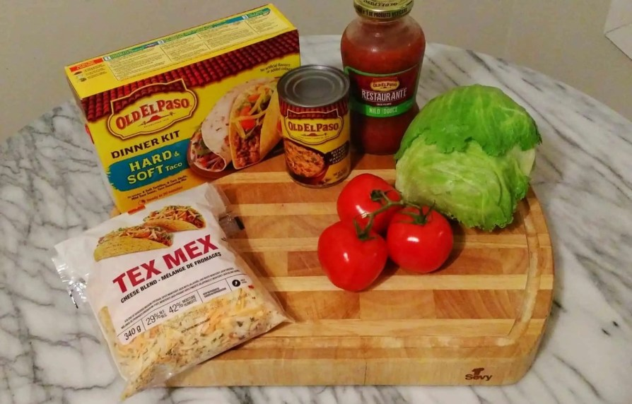 Old El Paso Let's Taco 'Bout It, Chapter Three — Double the Delicious with Double Layer Tacos! — Double Layer Tacos Ingredients