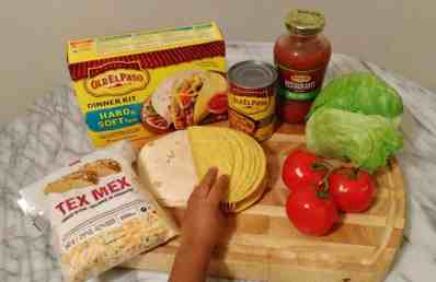 Old El Paso Let's Taco 'Bout It, Chapter Three — Double the Delicious with Double Layer Tacos! — Little Palmer Can't Wait to Get His Hands on Double Layered Tacos