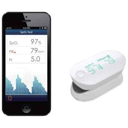 The Best Buy He-Shed — Where Tech and Design Can BOTH Call HOME — iHealth Bluetooth Pulse Oximeter