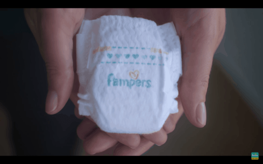Touches of Love — a Pampers Parable for World Prematurity Day — The Super-Small Pampers Preemie Swaddlers