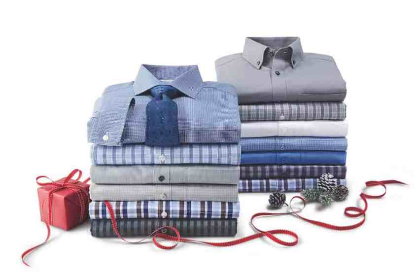 Make Your Mark on Fashion this Winter — The Mark's Christmas 2016 Gift Guide — Denver Hayes Never Iron Shirts