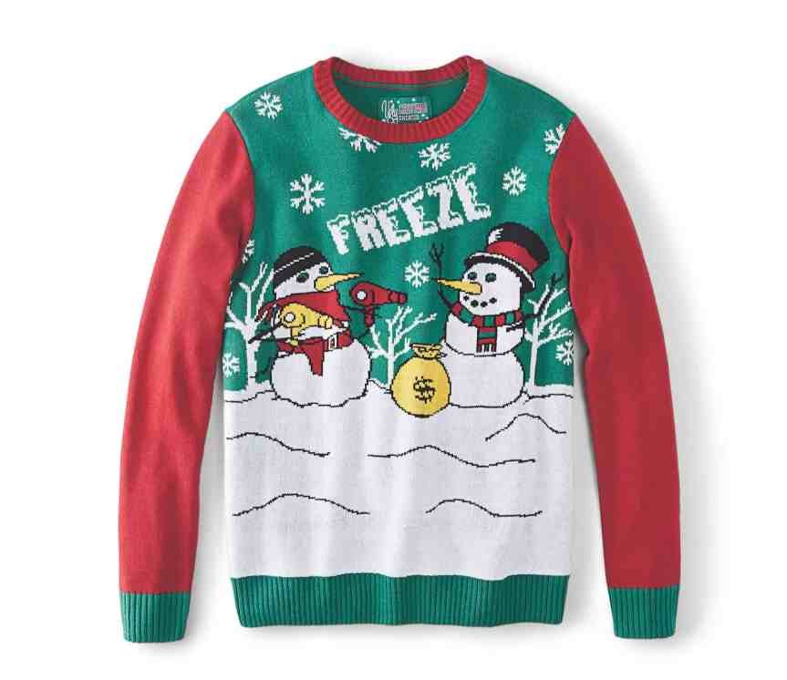 Make Your Mark on Fashion this Winter — The Mark's Christmas 2016 Gift Guide — Denver Hayes Ugly Christmas Sweater