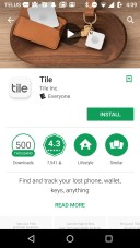 Tile Mate — Helping You Keep Your Stuff BY YOUR SIDE. — Tile App — Google Play Store Screen