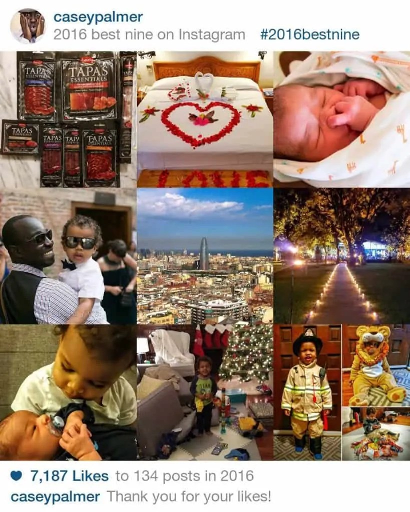 The 2016 100 Wrap-Up, Part 1 - The 26 Things I MANAGED To Do. — CaseyPalmer Instagram Best Nine