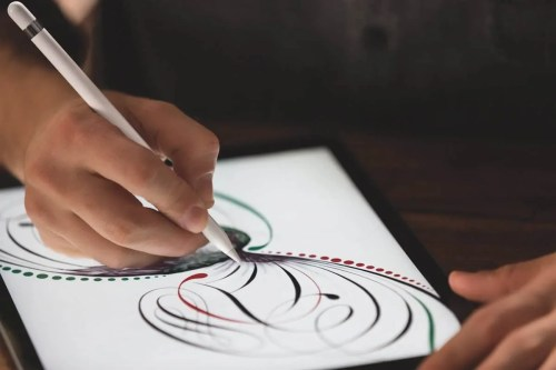 Finding My Flow with the iPad Pro — Close-Up of the Apple Pencil