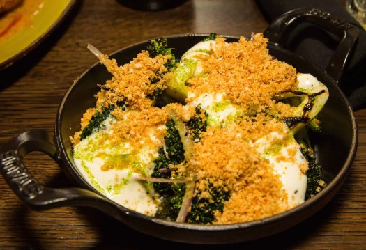Get Fingers Worth Licking at Union Chicken! — Charred Broccoli Salad