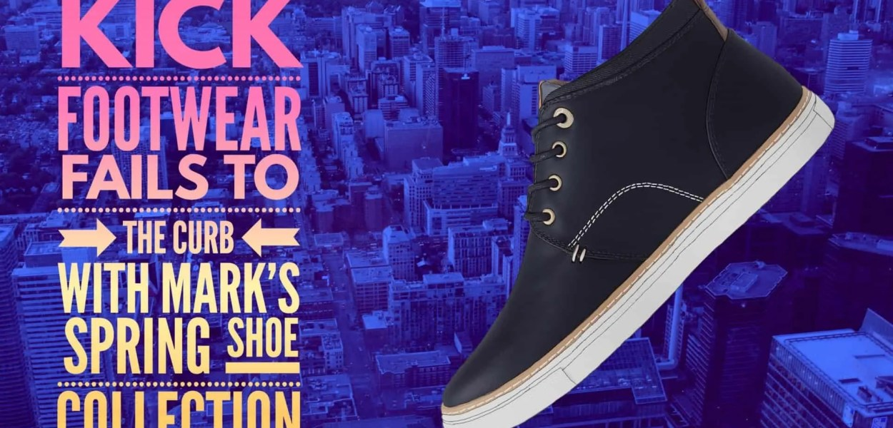 Kick Footwear Fails to the Curb with Mark's Spring Shoe Collection! (Featured Image)