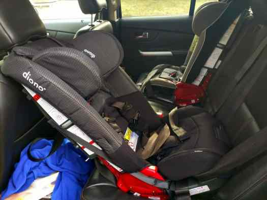 Put Your Car Seat Woes at Ease with the diono radian rXT! — Two diono radian rXTs in Our Back Seat