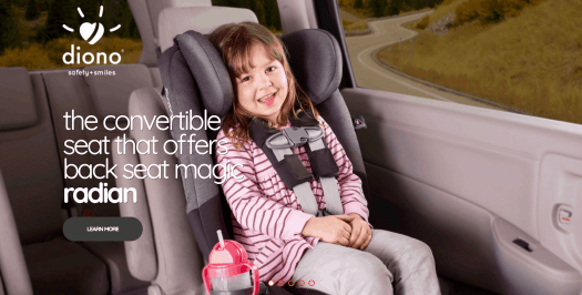 Put Your Car Seat Woes at Ease with the diono radian rXT! — radian rXT title image