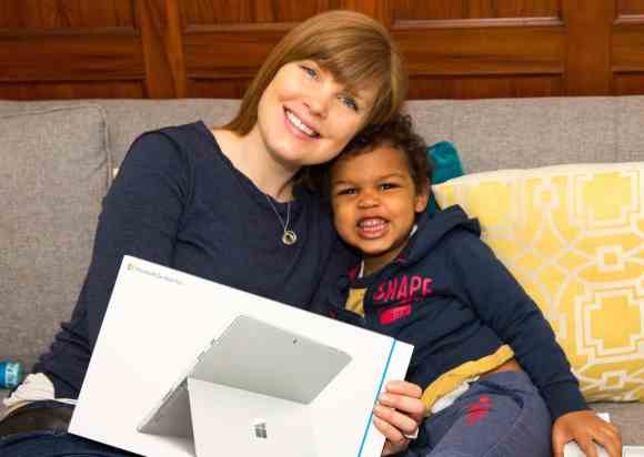 Doing Mother's Day RIGHT Courtesy of Best Buy!—Sarah's Reaction to her new Microsoft Surface Pro 4
