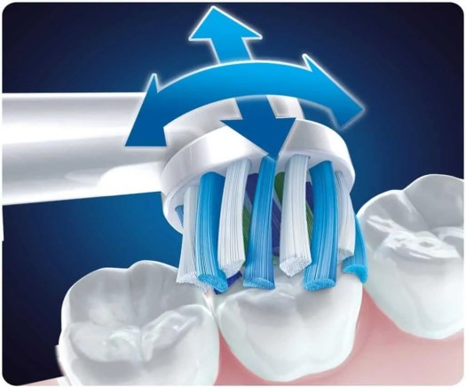 Help Dad Shine Bright with the Oral-B Genius 8000 Electric Toothbrush! — Brushing Action