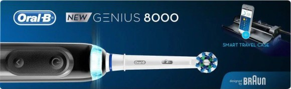 Help Dad Shine Bright with the Oral-B Genius 8000 Electric Toothbrush! — Oral-B Genius 8000