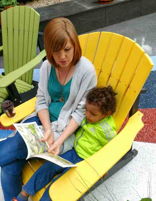 How McDonald's Happy Meals Can Reveal the Joy of Reading!—Sarah Reading to Our Son