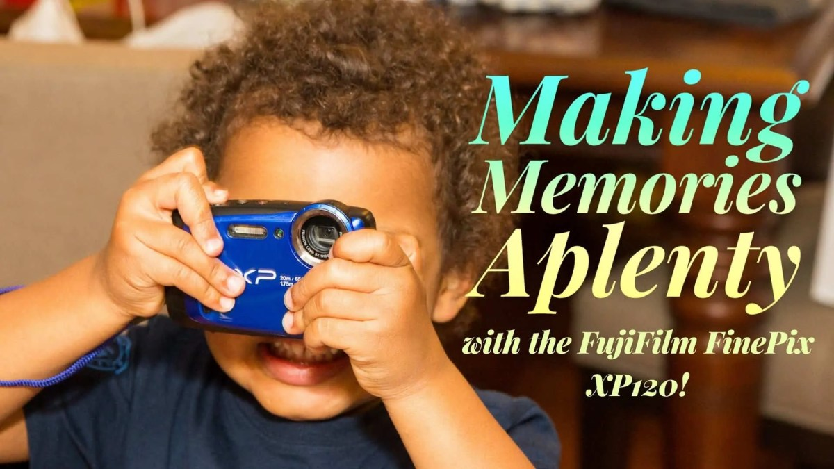 Making Memories Aplenty with the FujiFilm FinePix XP120! (Featured Image)