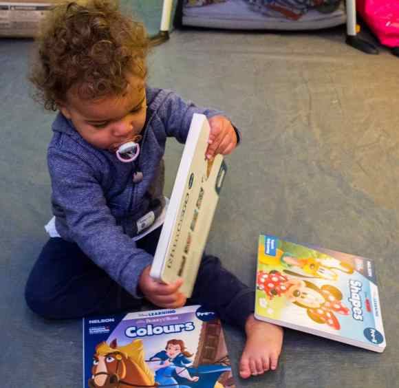 Keep Those Young Minds Yearning with NELSON Disney Learning!—Curious Toddler