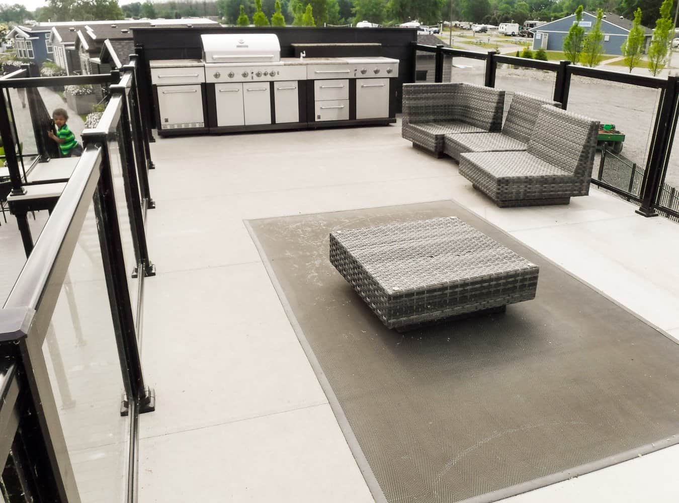 Make Vacay Matter More with Stays at Sherkston Shores! — Luxury Black Diamond Lakefront Rental Cottage Rooftop Patio