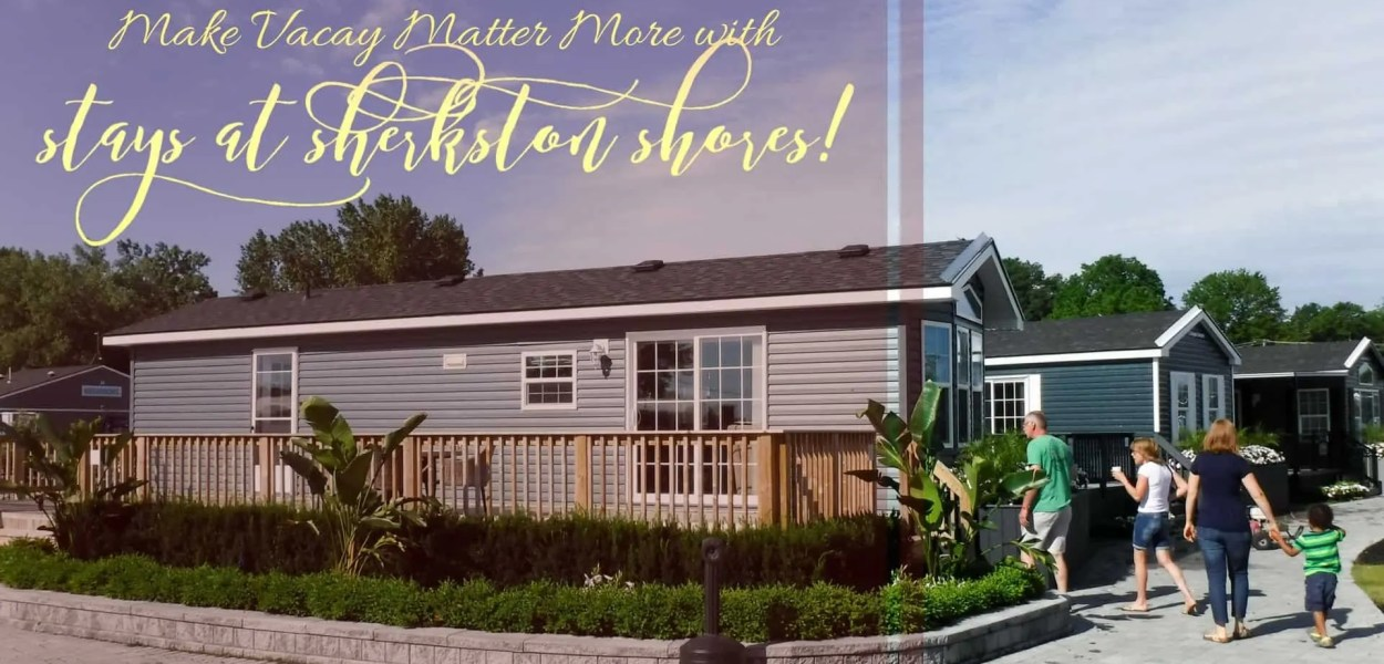 Make Vacay Matter More with Stays at Sherkston Shores! (Featured Image)