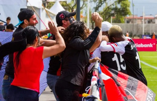 What it Means to be a Champion — My Experience at the 2017 Scotiabank CONCACAF Champions League Under 13 Fútbol Tournament — LD Alajeulense Celebration