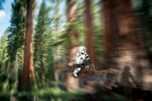 What Force Friday II Brought for Star Wars Fans Worldwide!—Propel Star Wars Elite Laser Battle Drones' 74-Z Speeder Bike