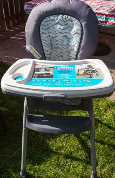 Taking Mealtime to New Heights—the Graco Table2Table 6-in-1 Highchair! — The Shiny, New Table2Table!