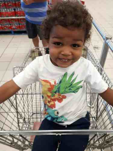 The Life and Times of Casey and Family—NaBloPoMo Day 3—The Kindergarten Kid Out Shopping