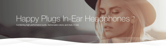 TELUS Holiday Gift Guide—Happy Plugs In-Ear Headphones Header
