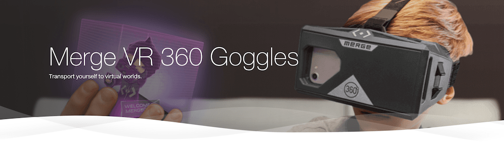 TELUS Holiday Gift Guide — Merge VR 360 Goggles Header