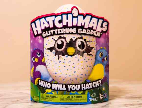 The Casey Palmer, Canadian Dad Christmas Gift Guide for... Kids!—Spin Master—Hatchimals Glittering Garden Egg