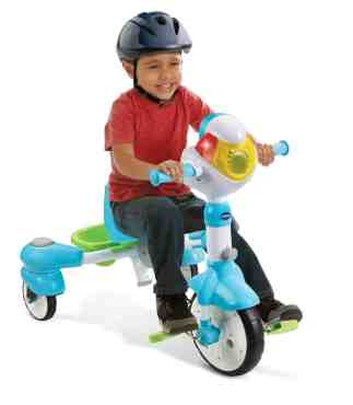 The Casey Palmer, Canadian Dad Christmas Gift Guide for... Kids! — VTech 4-in-1 Stroll & Grow Tek Trike — Tricycle Mode