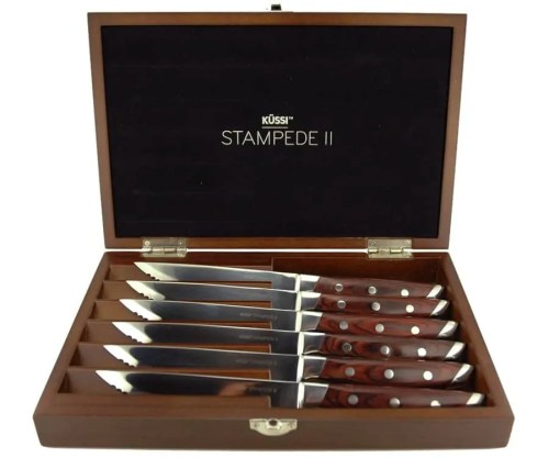 The Casey Palmer, Canadian Dad Christmas Gift Guide... for Grown-Ups! — House of Knives — KÜSSI STAMPEDE CLASSIC 6PC SET (SC350-6)