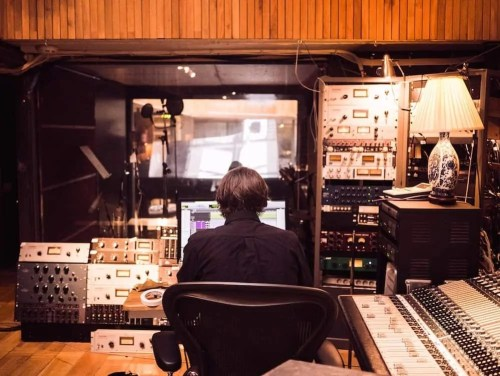 The Casey Palmer, Canadian Dad Christmas Gift Guide... for Grown-Ups!—Sitting in the sound booth