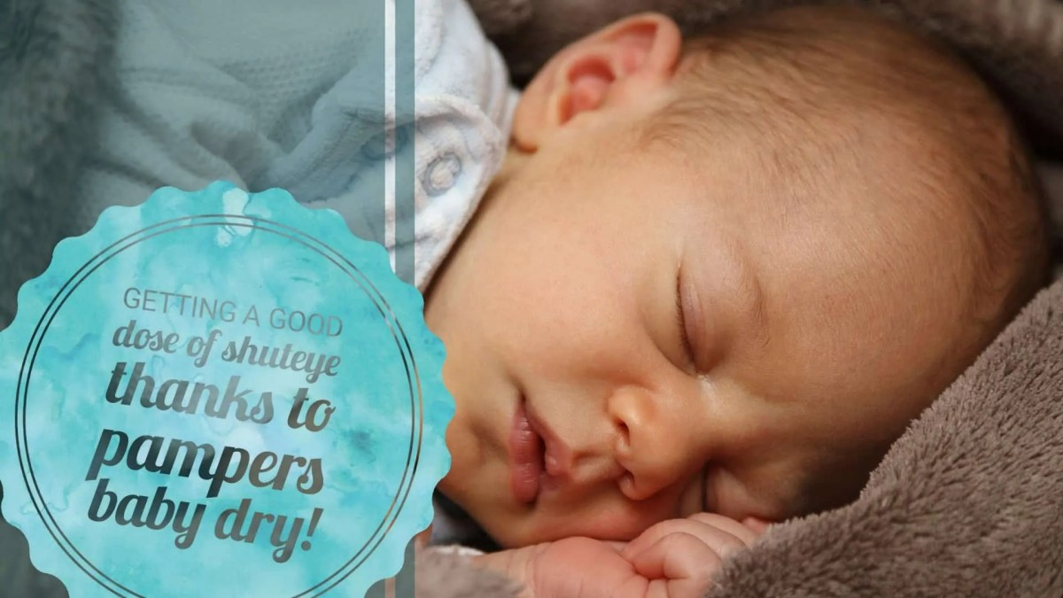 Getting a Good Dose of Shuteye Thanks to Pampers Baby Dry! (Featured Image)
