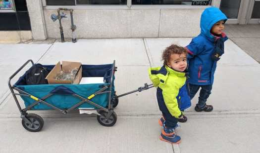 Live from the 3.5 — Back to Black — The Boys Pulling a Wagon