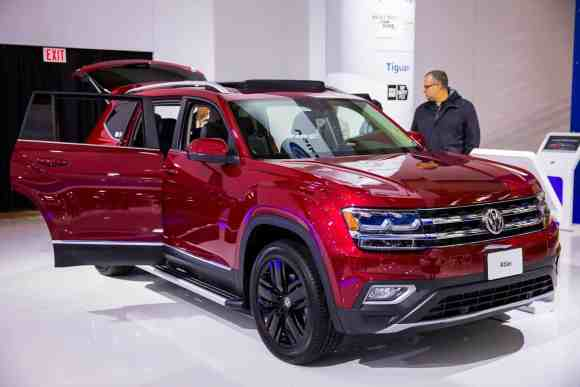 Leave All the Tongues Wagging with a Shiny Volkswagen!—2018 VW Atlas
