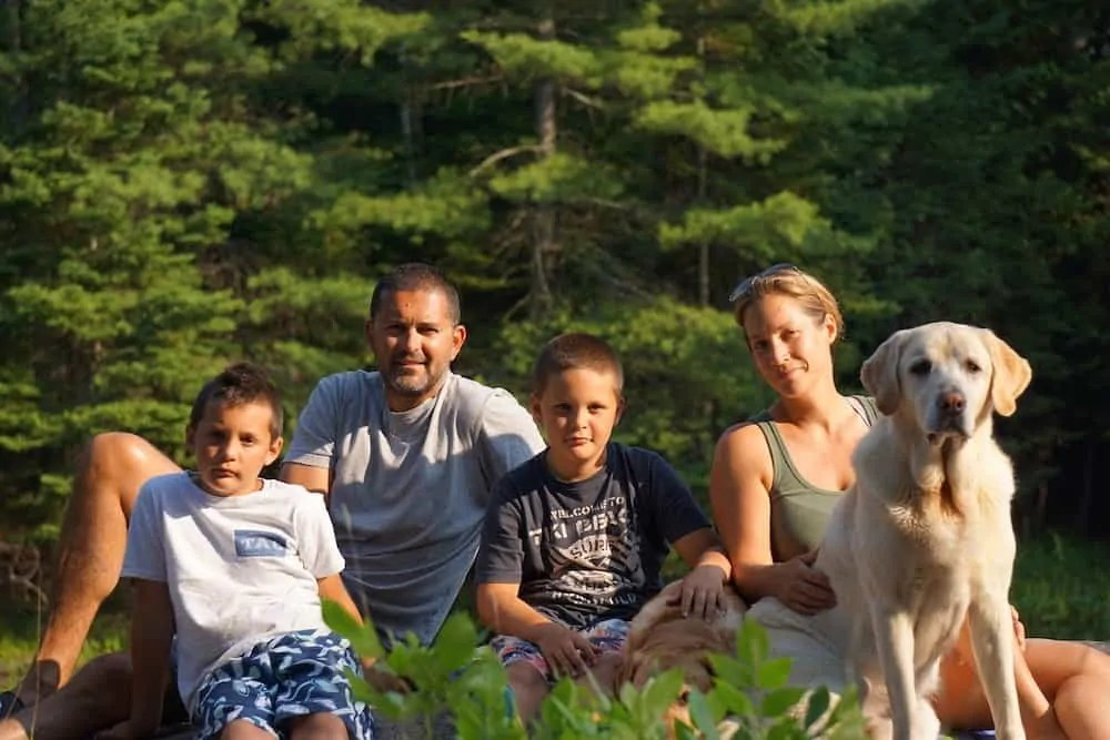 Casey Palmer Presents - An Evening with Yannick — Yannick and Family in the Summer