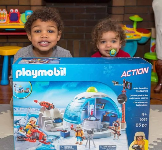 Getting Boredom in Order with the PLAYMOBIL Arctic Expedition Headquarters! — The Boys and Their New Toy