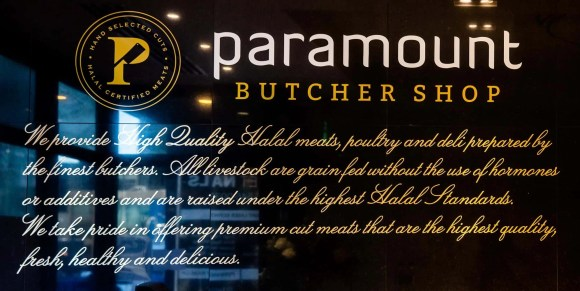 Get Meat That's Sure to Pop at the Paramount Butcher Shop—Paramount Butcher Shop Wall Description