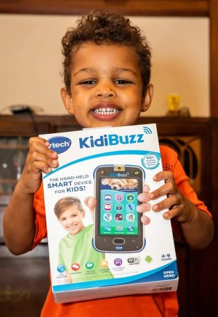 See What a CREATIVE Kid Does with the VTech Kidibuzz! — The Kid Loves His New KidiBuzz! v2